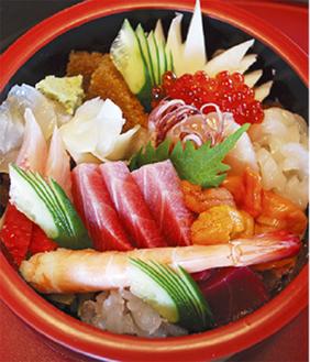 特上ちらし寿司