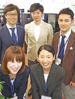 リスタのスタッフ。中央が高松さん