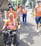 車椅子の参加者も(昨年の様子)