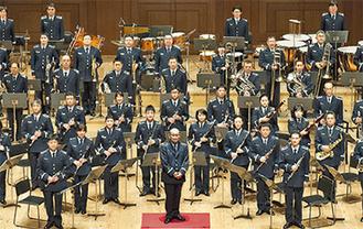 「航空自衛隊航空中央音楽隊」による演奏も楽しめる