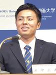 ソフトバンクから1位指名を受けた創価大学の田中正義投手
