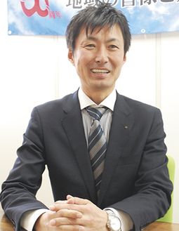 高尾署との取り組みについて語る中川社長