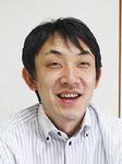 インタビューに応じる和田代表