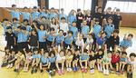 同クラブは未就学児から中学生まで77人が所属する