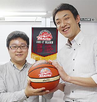 藤垣さん(左)と和田代表