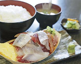 平野さん一押しの「北前廻船定食」(780円)