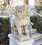 【参考】明神町子安神社の狛犬