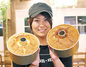 「ふわふわ」「しっとり」とした味わいが人気を集める同店のシフォンケーキ