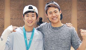 尾本さん(左)と松尾さん