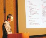 「弁護士法人八王子ひまわり法律事務所」代表の古川健太郎氏によるセミナーも行われた