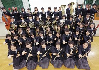富士森高校吹奏楽部の部員。同校にて