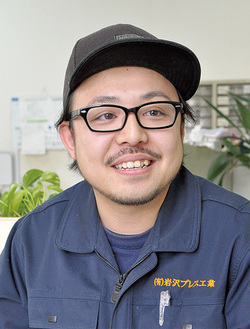 はちおうじ未来塾について話す岩澤社長