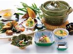 提供されるスペシャルランチ。日本料理とフレンチのいずれかから選択できるという
