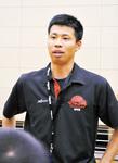 U15コーチの兼子さん。ビートレインズには2015〜17年に在籍