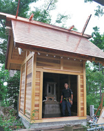 浅間神社 本殿を新築
