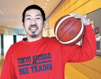 今季新加入の根東選手。背番号は51