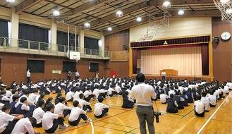 各校で啓蒙活動が進んでいる