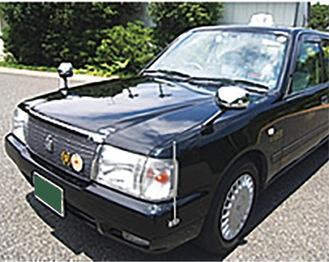 八王子交通のタクシー