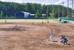 戸吹町のセガサミー球場で9月9日に行われたオープン戦