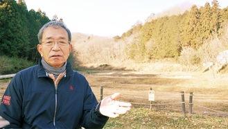 「上川の里」でアンケートについて話す高野さん
