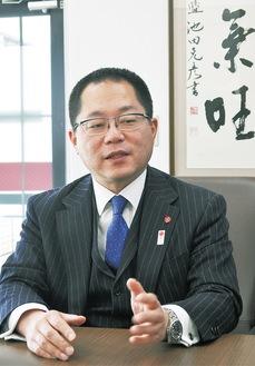 八王子YEGの山本例会運営委員長