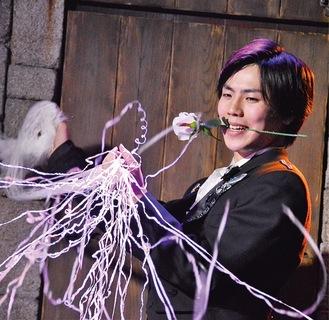 出演するマジシャンの渋谷さん
