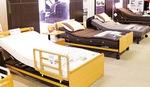電動ベッド多数を総力展示