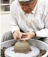 美山焼 川口町で作陶展