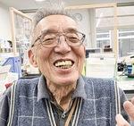 動画の完成を喜ぶ平野さん