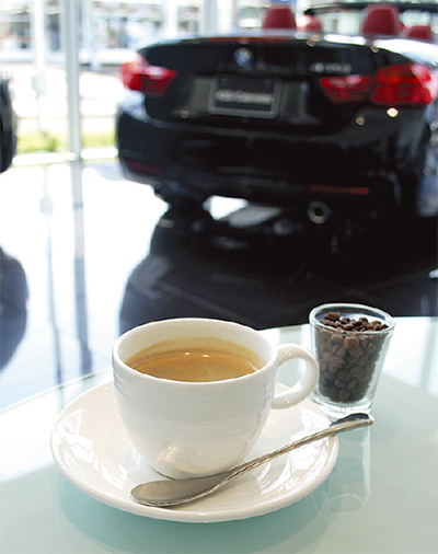 コーヒーにも歓びを