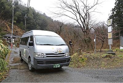 小津町会 バスを路線化