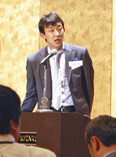和田代表が講演