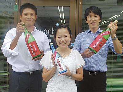 地産地消の日本酒づくり