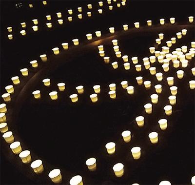 「繋がり」深める「灯」イベント