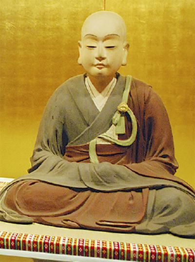 松姫坐像公開