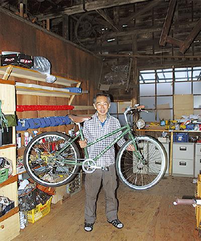 中古自転車7千円〜