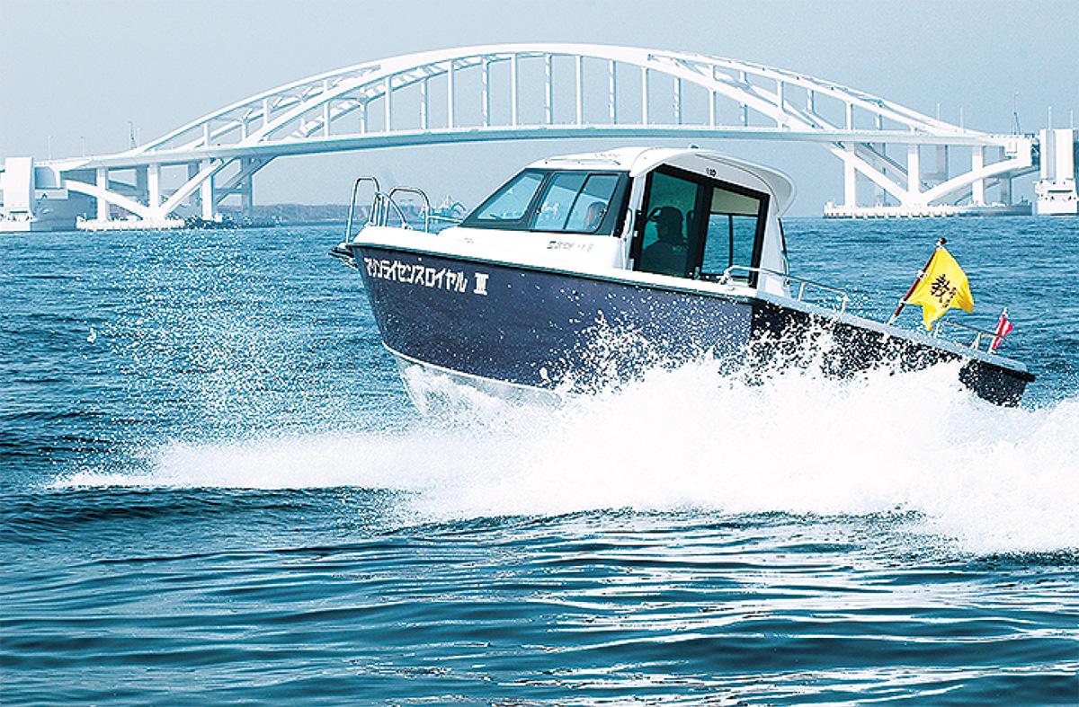 2級船舶、水上バイク免許が取れる