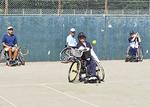 16人が参加したテニススクール