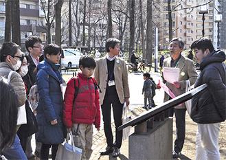 永尾副市長のガイドで市内を見学