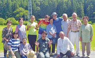 三和町の皆さんと環境未来基地のメンバー