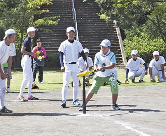 競技を楽しむ子どもたち