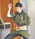 プロの技を披露する伊藤さん