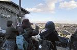 桜ヶ丘の街並みを撮影