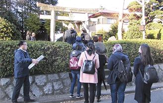金比羅神社を訪問