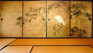 旧富澤家住宅、襖絵を特別公開