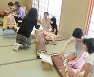 伝統文化に触れる体験を