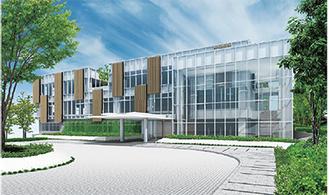 テクニカルセンターの完成予想図=同社提供