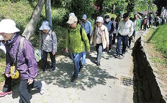 大塚公園まで散歩した
