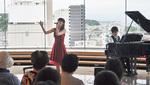 石井さんと石坂さんのコンサートも盛況