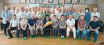多摩市囲碁教室のメンバーが集まり祝福